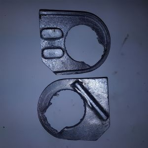 Casting Junior Magneto Timing cover back casting